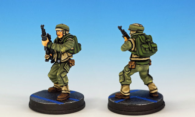 Alliance Rangers, Imperial Assault (2016), painted miniature