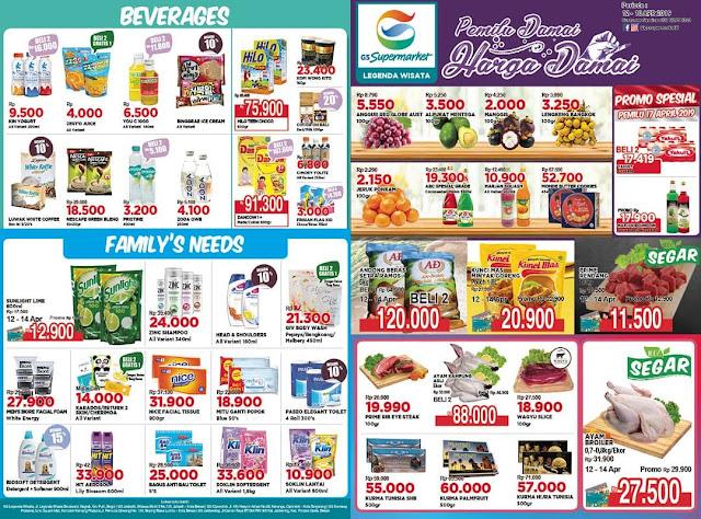 #GSSupermarket - #Promo #Katalog JSM Periode 12 - 18 April 2019