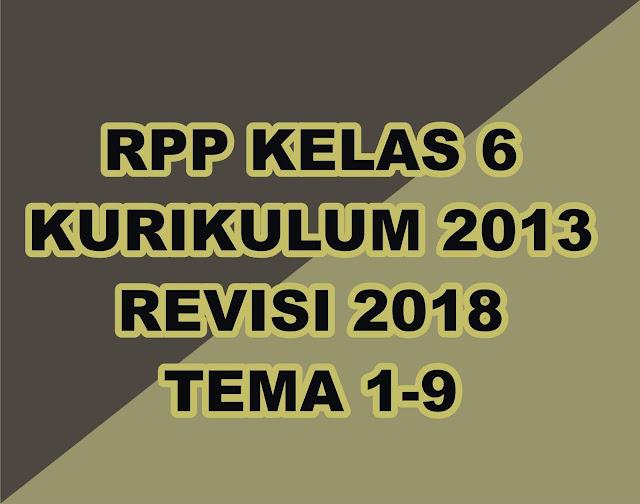RPP adalah kebutuhan wajib yang harus dimiliki oleh seorang guru. Kali ini gurune akan memberikan tautan download gratis RPP kelas VI kurikulum 2013 yang telah direvisi tahun 2018. Silahkan sobat download dan tentunya di edit sesuai kebutuhan sobat, jika ada yang salah silahkan sobat perbaiki sendiri.    File besar silahkan sobat menuju ketempat yang mempunyai koneksi bagus.   File RPP kelas 6 terdiri dari 9 Tema yang gurune kumpulkan menjadi satu file download    Download RPP Kelas 6 K-13, Rev 2018 Lengkap -   DOWNLOAD     Adapun Penjelasan Tentang Revisi RPP terbaru adalah sebagi berikut :    Rencana Pelaksanaan Pembelajaran (RPP) yang dibuat harus muncul empat macam hal yaitu PPK, Literasi, 4C, dan HOTS maka perlu kreatifitas guru dalam meramunya.  Perbaikan atau revisinya adalah :  Mengintergrasikan Penguatan Pendidikan Karakter (PPK) didalam pembelajaran. Karakter yang diperkuat terutama 5 karakter, yaitu: religius, nasionalis, mandiri, gotong royong, dan integritas. Mengintegrasikan literasi; Mengintegrasikan keterampilan abad 21 atau diistilahkan dengan 4C (Creative, Critical thinking, Communicative, dan Collaborative); Mengintegrasikan HOTS (Higher Order Thinking Skill   Gerakan PPK perlu mengintegrasikan, memperdalam, memperluas, dan sekaligus menyelaraskan berbagai program dan kegiatan pendidikan karakter yang sudah dilaksanakan sampai sekarang.  Pengintegrasian dapat berupa :  a. pemaduan kegiatan kelas, luar kelas di sekolah, dan luar sekolah (masyarakat/komunitas); b. pemaduan kegiatan intrakurikuler, kokurikuler, dan ekstrakurikuler; c.  pelibatan secara serempak warga sekolah, keluarga, dan masyarakat;   Perdalaman dan perluasan dapat berupa:  a) penambahan dan pengintensifan kegiatan-kegiatan yang berorientasi pada pengembangan karakter siswa, b) penambahan dan penajaman kegiatan belajar siswa, dan pengaturan ulang waktu belajar siswa di sekolah atau luar sekolah; c) penyelerasan dapat berupa penyesuaian tugas pokok guru, Manajemen Berbasis Sekolah, 