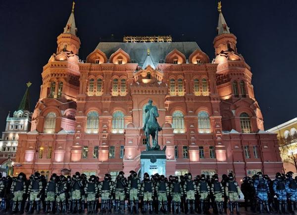 Москва после суда над Навальным
