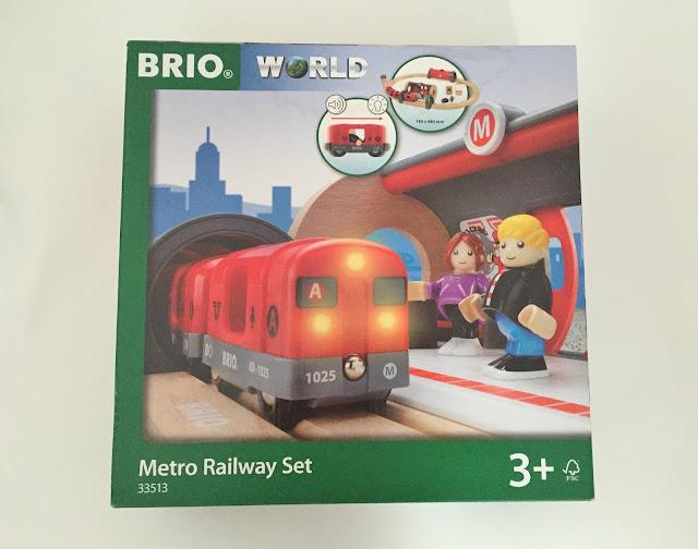 Brio Metro Trainset