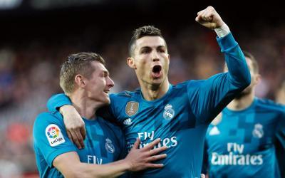 Ronaldo nails 2 penalties as Real Madrid beats Valencia 4-1