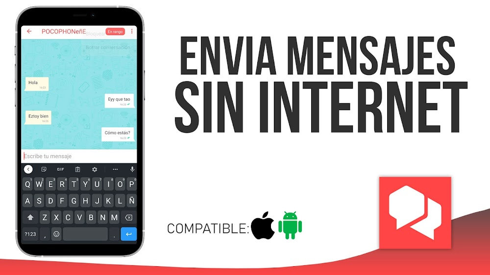 Enviar Mensajes Sin Internet? Instalar Bridgefy Android o iOS