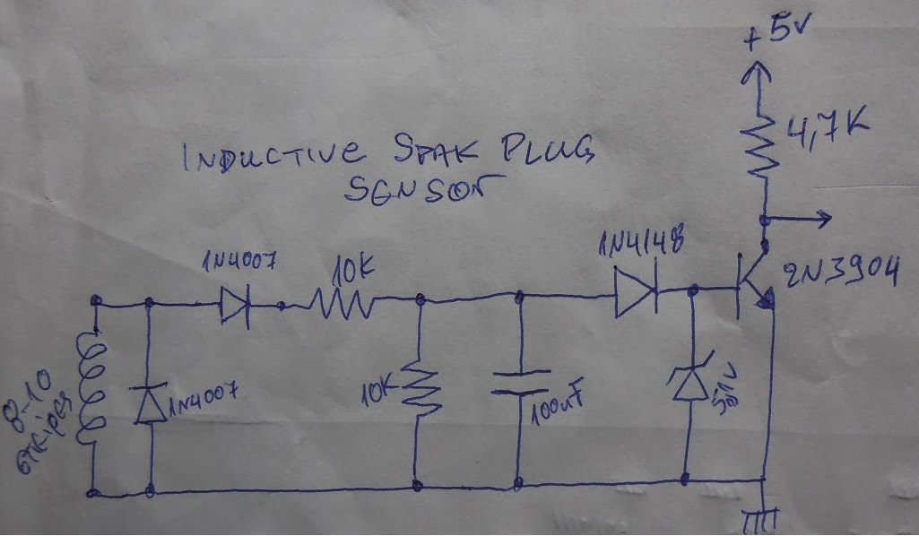 kostas kokoras arduino projects inductive spark plug