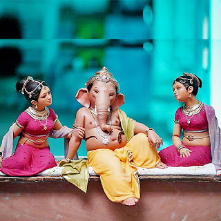 Vishal Shinde Bal Ganesh Murti Murtikar HD Image