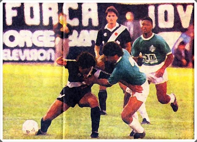 VASCO DA GAMA ATLÉTICO NACIONAL 1990