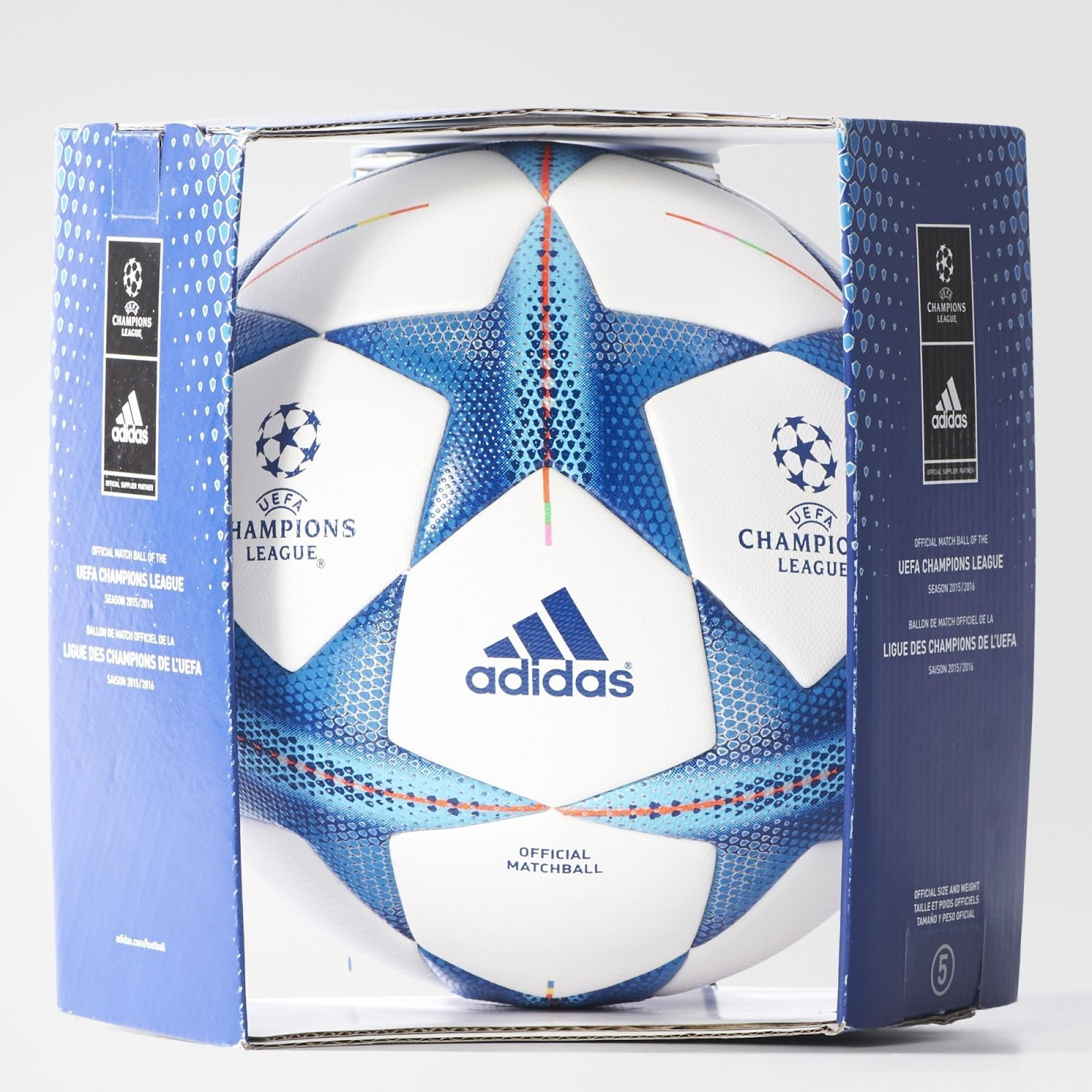 the official match ball for the 2015 16 uefa champions league kfzech blogger