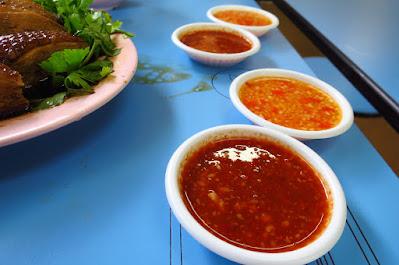 Ah Xiao Teochew Braised Duck (亞笑潮洲卤鸭), Golden Mile Food Centre, chilli