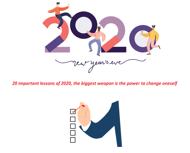20 important lessons of 2020, the biggest weapon is the power to change oneself