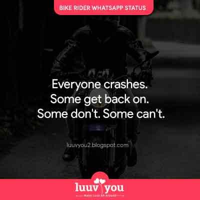 bike status, whatsapp status
