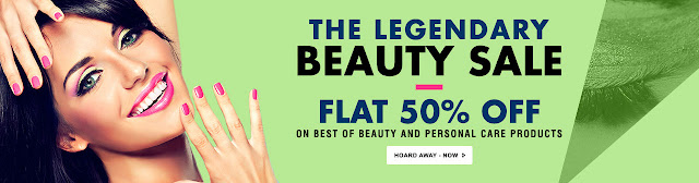 Flat 50% Off The Legendary Beauty Sale
