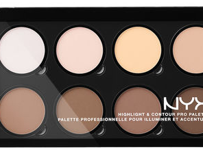 Swap your foundation for the Nyx Highlight & Contour Pro Palette