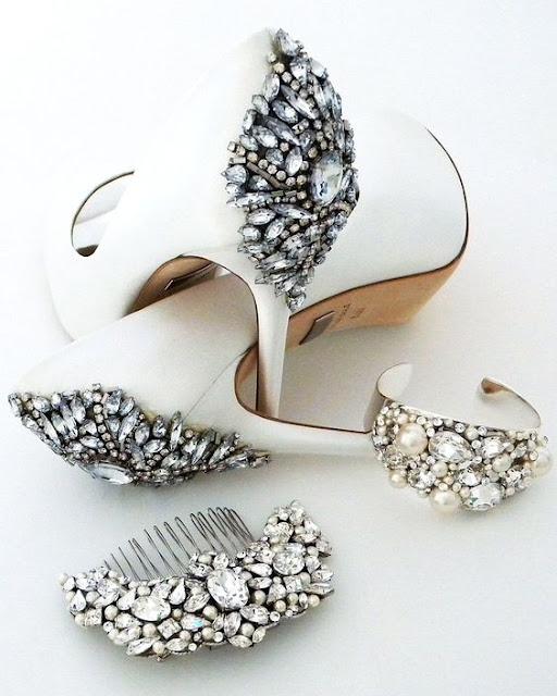 Revisar todos los accesorios de la novia para el gran día - Foto: Pinterest