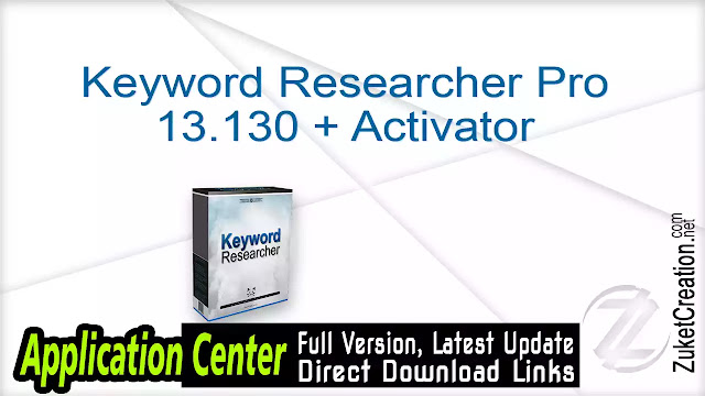 Best Keyword Researcher Pro 13.130 + Activator Free Download