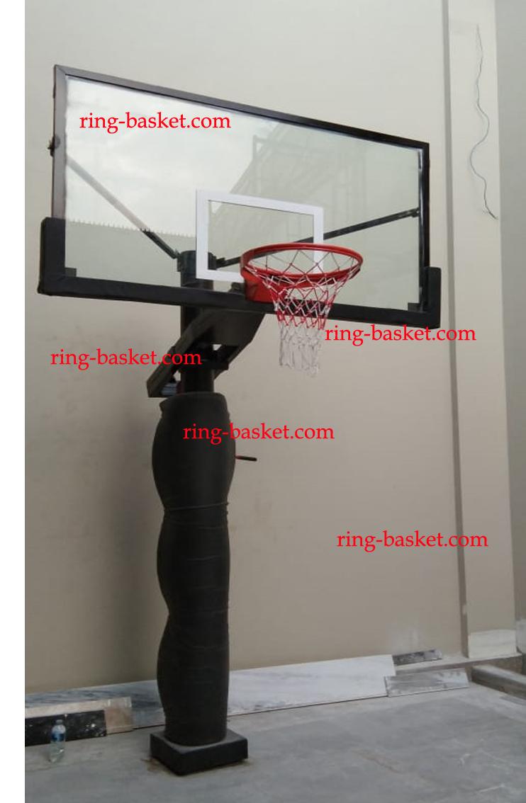 Ukuran Papan Ring Basket : ukuran, papan, basket, Basket, Papan, Pantul, Portable, Tiang, Tanam:, Tanam, Ketinggian, Diatur, 105X180