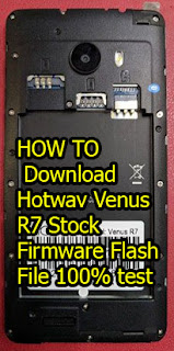 Hotwav R7 Flash File Stock Firmware