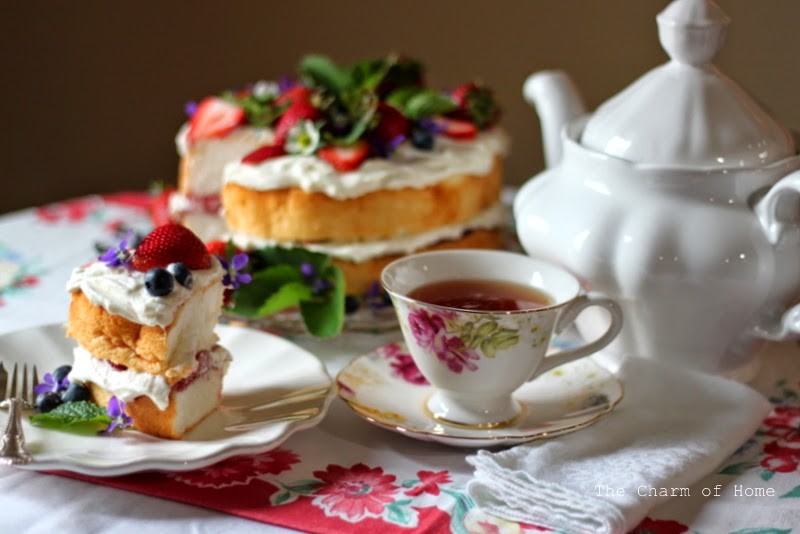 A Cheerful Tea: The Charm of Home