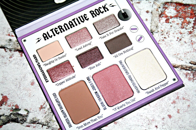 theBalm Alternative Rock Face Palette Volume 1