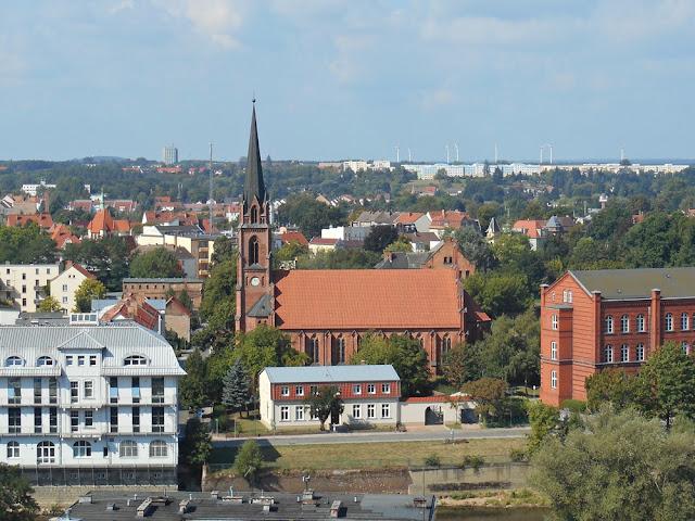 Gubin, zwiedzanie, domy, kościoły