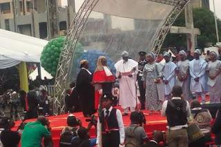 BREAKING: Buhari Inaugurated For Second Term