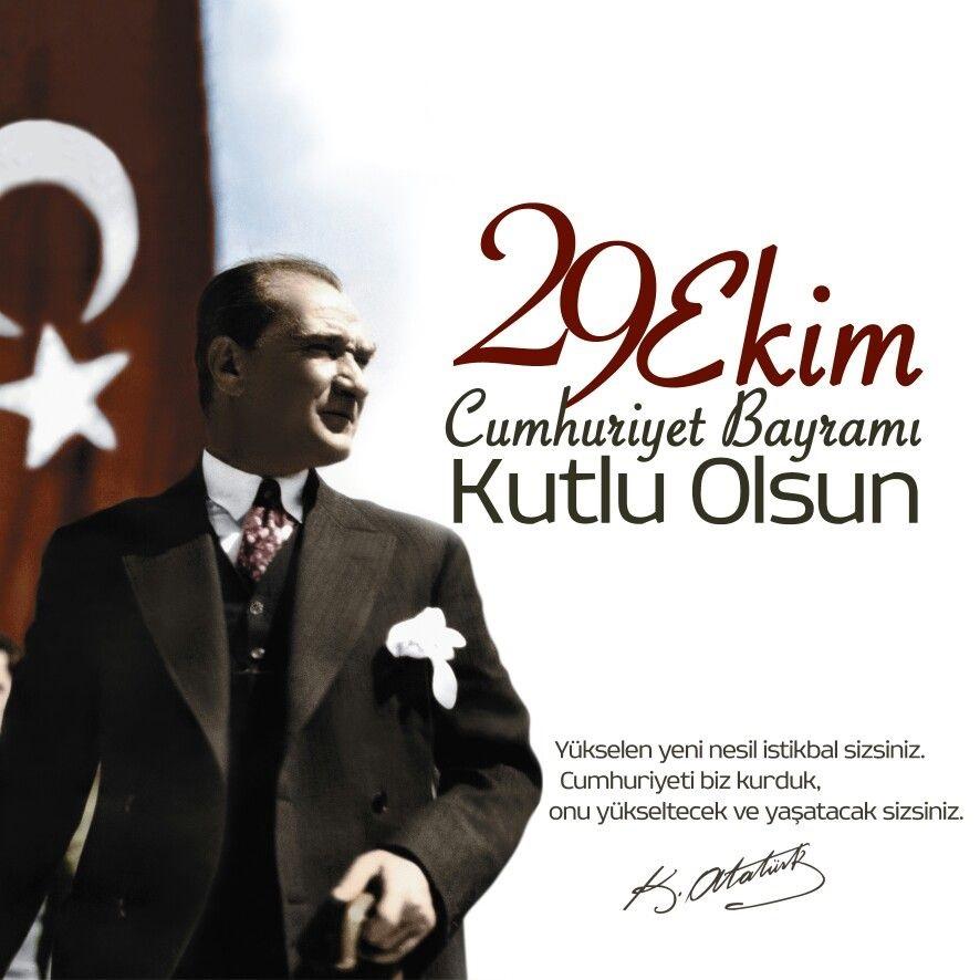 29 Ekim Cumhuriyet Bayramı Kutlu Olsun Resimleri