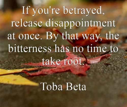 Betrayal quotes and famous betrayal sayings