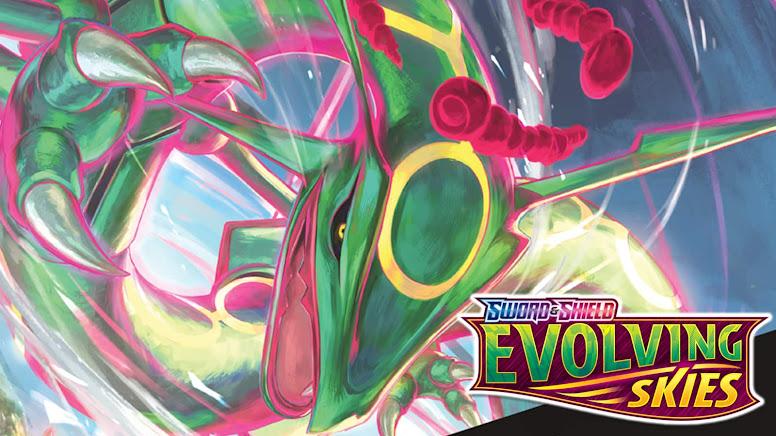 Rayquaza Evolving Skies Wallpaper