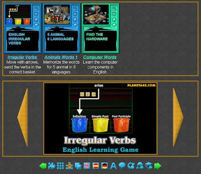 Language Arcade Games