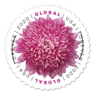Global Forever Flower Stamps