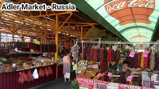 Adler Market in Sochi