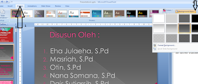 cara membuat tugas power point