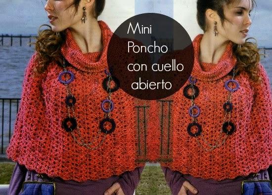 poncho, crochet, tutorial, patron