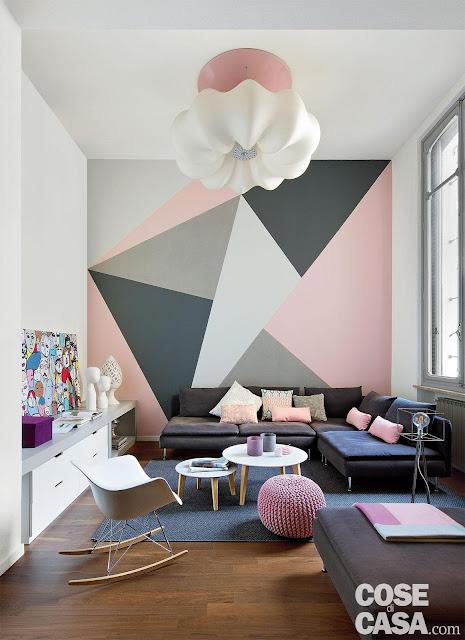 50 m² + un mezanin de 22 m² și o amenajare practică pentru un apartament din Torino
