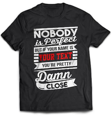 customize shirt with your name