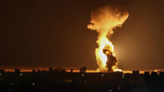 Israeli military said it carried out overnight attacks on Hamas targets in the Gaza Strip