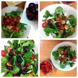 Cherries salad Insalata di Ciliegie