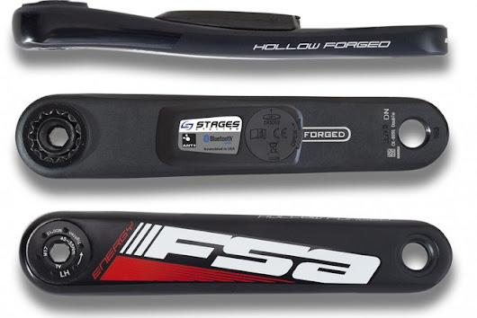 The power meter Stages now for the FSA and Shimano Ultegra