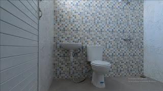 Kamar mandi rumah mewah 2 Lantai ready dan siap huni dekat pintu tol Helvetia Medan - Villa Citra Mandiri