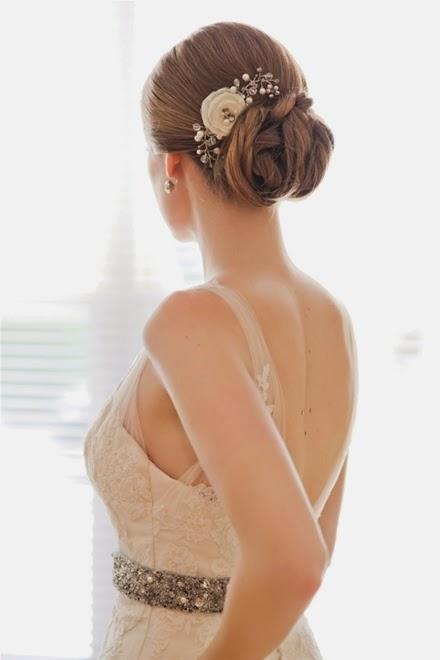 Xu hướng kiểu tóc cô dâu mùa thu 2014 mới lạ và bay bổng1