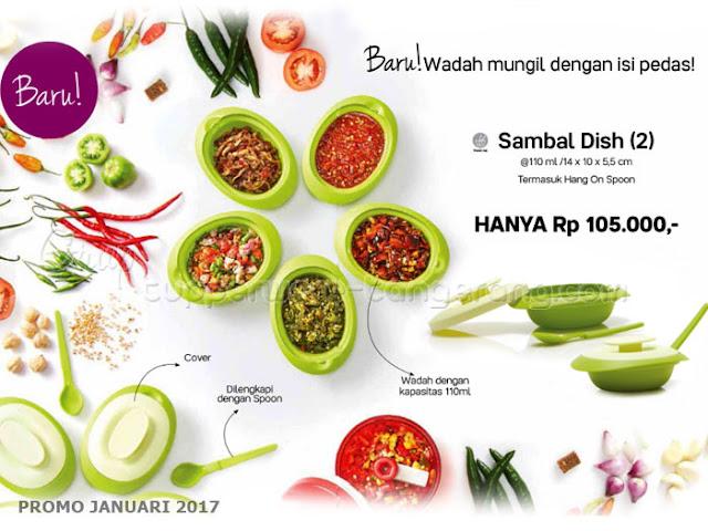 Sambal Dish Promo Tupperware Januari 2017