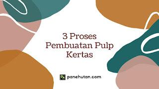 3 Proses Pembuatan Pulp Kertas