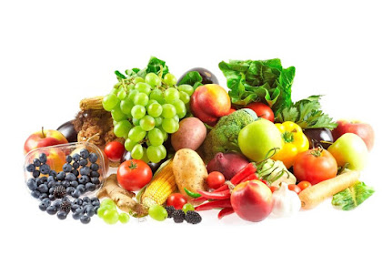Rupanya warna buah dan sayur tu ada khasiatnya tersendiri