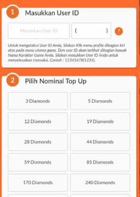 top up diamonds mobile legends termurah