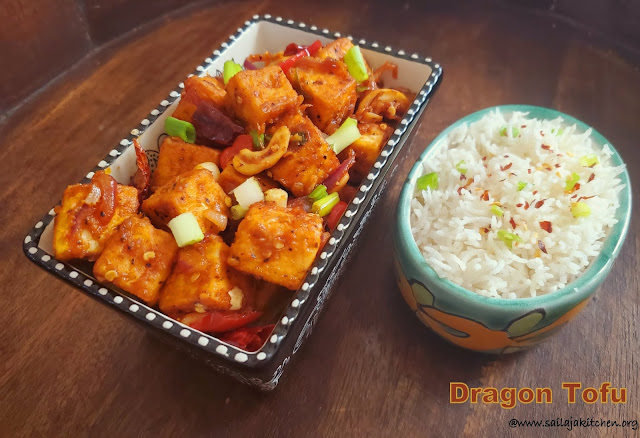 images of Dragon Tofu / Indo Chinese Dragon Tofu - Indo Chinese Recipes