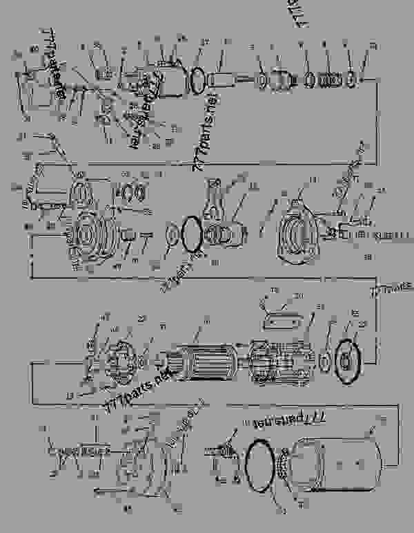 Caterpillar C10 C12 3176b 3406e Engine Wiring Diagram