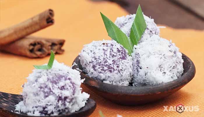 Resep cara membuat klepon ubi ungu