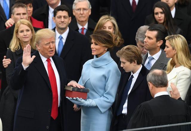 Ο Ντόναλντ Τραμπ είναι ο νέος Πρόεδρος των Ηνωμένων Πολιτειών της Αμερικής.