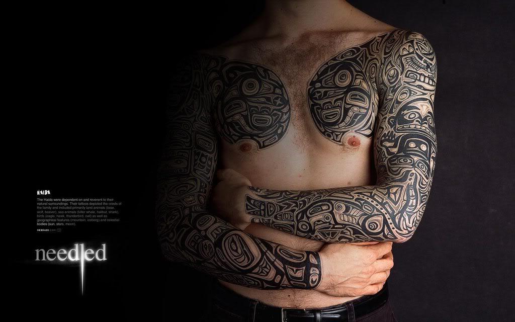 flower tattoos collections: Haida Tattoo Designs Ideas ...