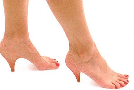 highheels,sepatu hak tinggi,sandal tinggi,bahaya highheels,Bahaya Sandal Sepatu High HeelsKonsekuensinya, jika terjadi peregangan yang berlebihan pada bagian betis maka akan terjadi pemendekan otot pada betis. Seorang Biomechanics mengatakan bahwa wanita yang menggunakan high heels lebih memungkinkan terserang kejang otot. Selain itu, high heels juga akan membuat seorang wanita mudah cedera karena posisi sepatu yang tak seimbang.