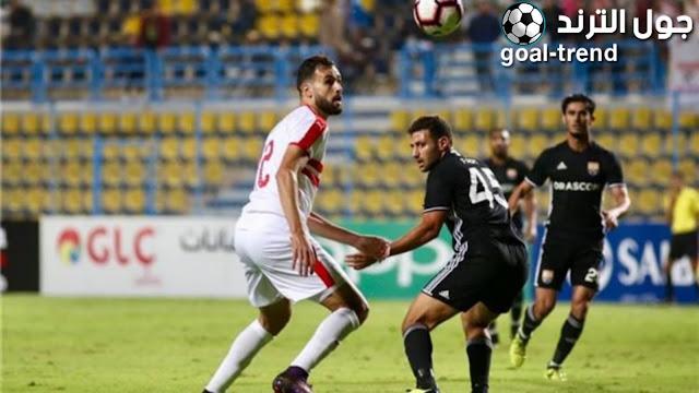 نتيجة مواجهة الزمالك والجونة في الدوري المصري
